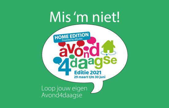Home editie 2021 van start!